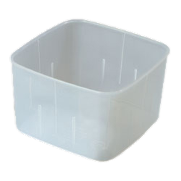 Carlisle Translucent 2 qt Economical Space Saver