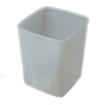 Carlisle Translucent 4 qt Economical Space Saver