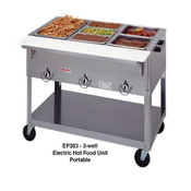 Duke EP302 Two Well AeroHot Portable Steam Table - Portable Steam Tables