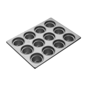 """Focus 3-1/2"""" Large Crown Muffin Pans - Focus Foodservice"""