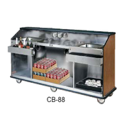 F.W.E. CB-8 Portable Bar with Ice Sink - Portable Bars