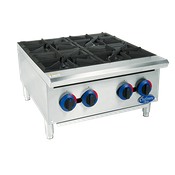 Globe C24HT Chefmate Gas Hot Plate - Hot Plates
