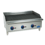Globe C36CB-SR Chefmate Gas Charbroiler - Countertop Gas Commercial Griddles