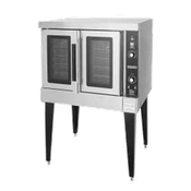 Hobart HGC502-NATURAL Nat. Gas Convection Oven - Double Deck Convection Ovens