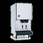 Hoshizaki DCM-270BAH-OS Air-Cooled Cubelet-Style Opti-Serve Ice Maker/Water Dispenser - Hoshizaki