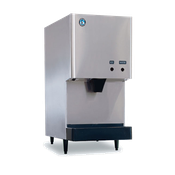 Hoshizaki DCM-270BAH Air-Cooled Cubelet-Style Ice Maker/Water Dispenser - Cube Style Ice Machines