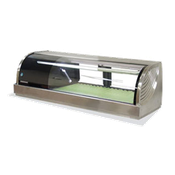 Hoshizaki HNC-120BA-L-S Countertop Refrigerated Display Case - Hoshizaki