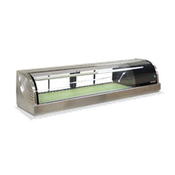 Hoshizaki HNC-150BA-R-S Countertop Refrigerated Display Case - Hoshizaki