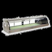 Hoshizaki HNC-180BA-R-S Countertop Refrigerated Display Case - Hoshizaki