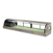 Hoshizaki HNC-210BA-L-S Countertop Refrigerated Display Case - Hoshizaki