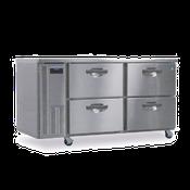 Hoshizaki HUF68A-D 18.8 cu ft Professional Series Undercounter Freezer - Hoshizaki