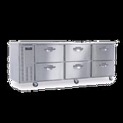 Hoshizaki HUR96A-D 29.1 cu ft Professional Series Undercounter Refrigerator - Undercounter Refrigerators