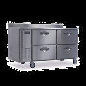 Hoshizaki HWF68A-D 18.8 cu ft Professional Series Worktop Freezer - Hoshizaki