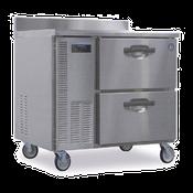 Hoshizaki HWR40A-D 8.5 cu ft Professional Series Worktop Refrigerator - Hoshizaki