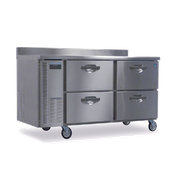Hoshizaki HWR68A-D 18.8 cu ft Professional Series Worktop Refrigerator - Hoshizaki