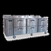 Hoshizaki HWR96A-D 29.1 cu ft Professional Series Worktop Refrigerator - Hoshizaki