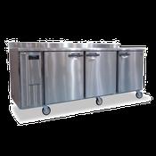Hoshizaki HWR96A 29.1 cu ft Professional Series Worktop Refrigerator - Hoshizaki