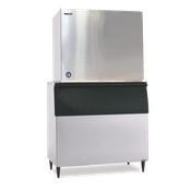 Hoshizaki KM-1900SWH-P Cube-Style Ice Maker, Water-Cooled - Crescent Style Ice Machines
