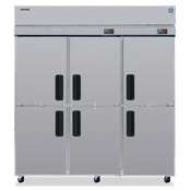 Hoshizaki RFH3-SSB-HD Three Section Professional Series Refrigerator/Freezer Dual Temp - Hoshizaki