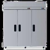 Hoshizaki RFH3-SSB Three Section Professional Series Refrigerator/Freezer Dual Temp - Hoshizaki