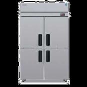 Hoshizaki RH2-SSE-HS Two Section Professional Series Refrigerator - Hoshizaki