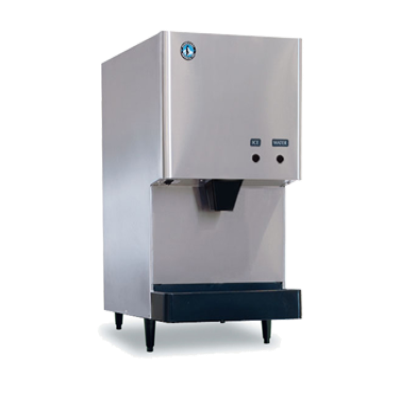 Hoshizaki DCM-270BAH Air-Cooled Cubelet-Style Ice Maker/Water Dispenser