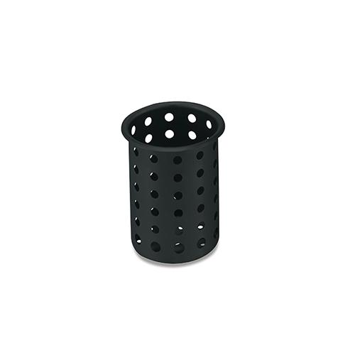 "Vollrath Cylinder, Black Plastic, 5-5/8""H, Cutout Diameter 4-1/32, NSF, (12/CS) at Sears.com"