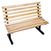 "John Boos 48""L Maple Park Bench - Restaurant Chairs"