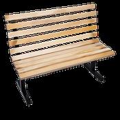 "John Boos 72""L Maple Park Bench - Restaurant Chairs"