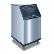 Manitowoc B-570 Ice Bin with Top-Hinged Front-Opening Door 430 Lb Ice Storage Capacity - Ice Bins
