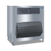 Manitowoc F-1650 660 lb. Ice Storage Bin with Top-Hinged Front-Opening Door - Manitowoc Ice Machines