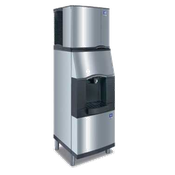 Manitowoc SFA-191 Vending Ice Dispenser with Built-In Water Valve Push Button Floor Model - Manitowoc Ice Machines
