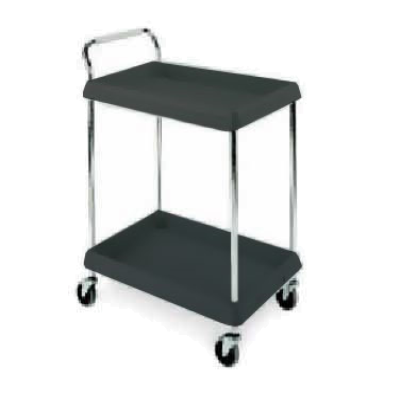 Metro BC2030-2DBL Deep Ledge Utility Cart 2-Tier with Open Base