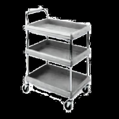 Metro BC2636-3DG Deep Ledge Utility Cart 3-Tier with Open Base
