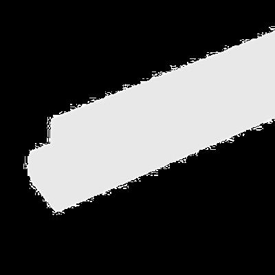 """Metro CSM6-W Super Erecta Shelf Marker 6"""" X 1-1/4"""""""