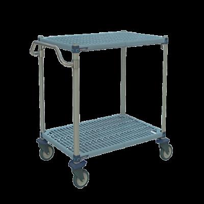 Metro MQUC1830G-25 Metromax Q Utility Cart 2-Shelf