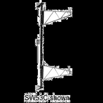 "Metro SW33C Super Erecta Wall Mounts 18"" Shelf Width"