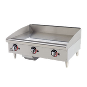 Star 636TF Star-Max Countertop Gas Griddle - Countertop Gas Commercial Griddles