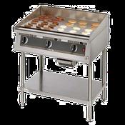 Star 824TSA Ultra-Max Countertop Gas Griddle - Countertop Gas Commercial Griddles
