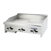 "Turbo Air TAMG-36 36"" Wide Radiance Griddle - Countertop Gas Commercial Griddles"