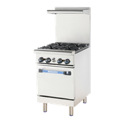 "Turbo Air TAR-4 24"" Radiance Restaurant Range - Restaurant Ranges"