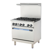 "Turbo Air TAR-6 36"" Radiance Restaurant Range - Restaurant Ranges"