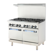 "Turbo Air TAR-8 48"" Radiance Restaurant Range - Restaurant Ranges"
