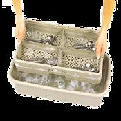 Vollrath 1303 Traex Half Rack Soak System - Vollrath Warewashing and Handling Supplies