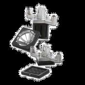 Vollrath 15082 Redco Instacut  T-Handle, Pusher Block and Blade - Vollrath Food Prep Equipment