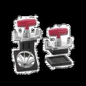 Vollrath 15087 Redco Instacut T-Handle, Pusher Block and Blade - Vollrath Food Prep Equipment