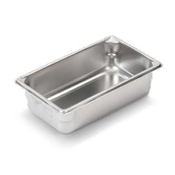 "Vollrath Super V 1/3 Size, 4""D Pan - Third Size Steam Table Pans"