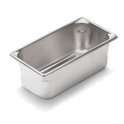 "Vollrath Super V 1/4 Size, 2-1/2""D Pan - Fourth Size Steam Table Pans"