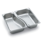 Vollrath 3100320 Super Pan Super Shape Wild Pan-Third Outer - Third Size Steam Table Pans