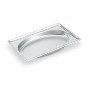 Vollrath 3101020 Super Pan Super Shape Full Size Oval Pan - Full Size Steam Table Pans